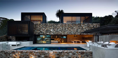 Summer residence on Waiheke Island, New Zealand