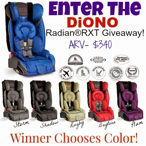 Diono Radian Carseat Giveaway