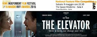 """IL FILM DI MASSIMO COGLITORE """"THE ELEVATOR"""" IN CONCORSO AL RIFF"""