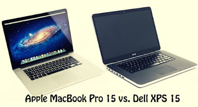 Dell XPS 15 vs. Apple MacBook Pro 15 with Retina Display