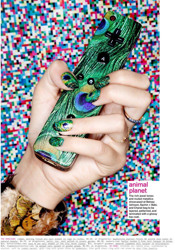 Digital Pixelated Nail Design Nail Art, PhotoShoot with model ...