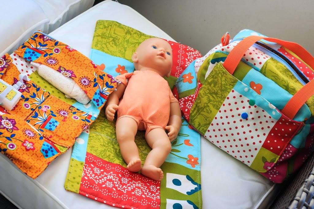 sasujo DESIGN -handmade: Milana Wickeltasche jetzt auch für die ...