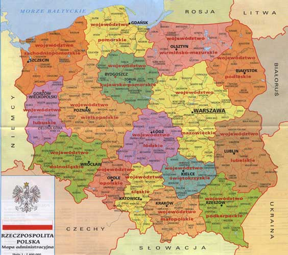 map of poland and germany. map of poland and germany.