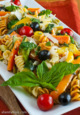 A Family Feast: Pasta Primavera
