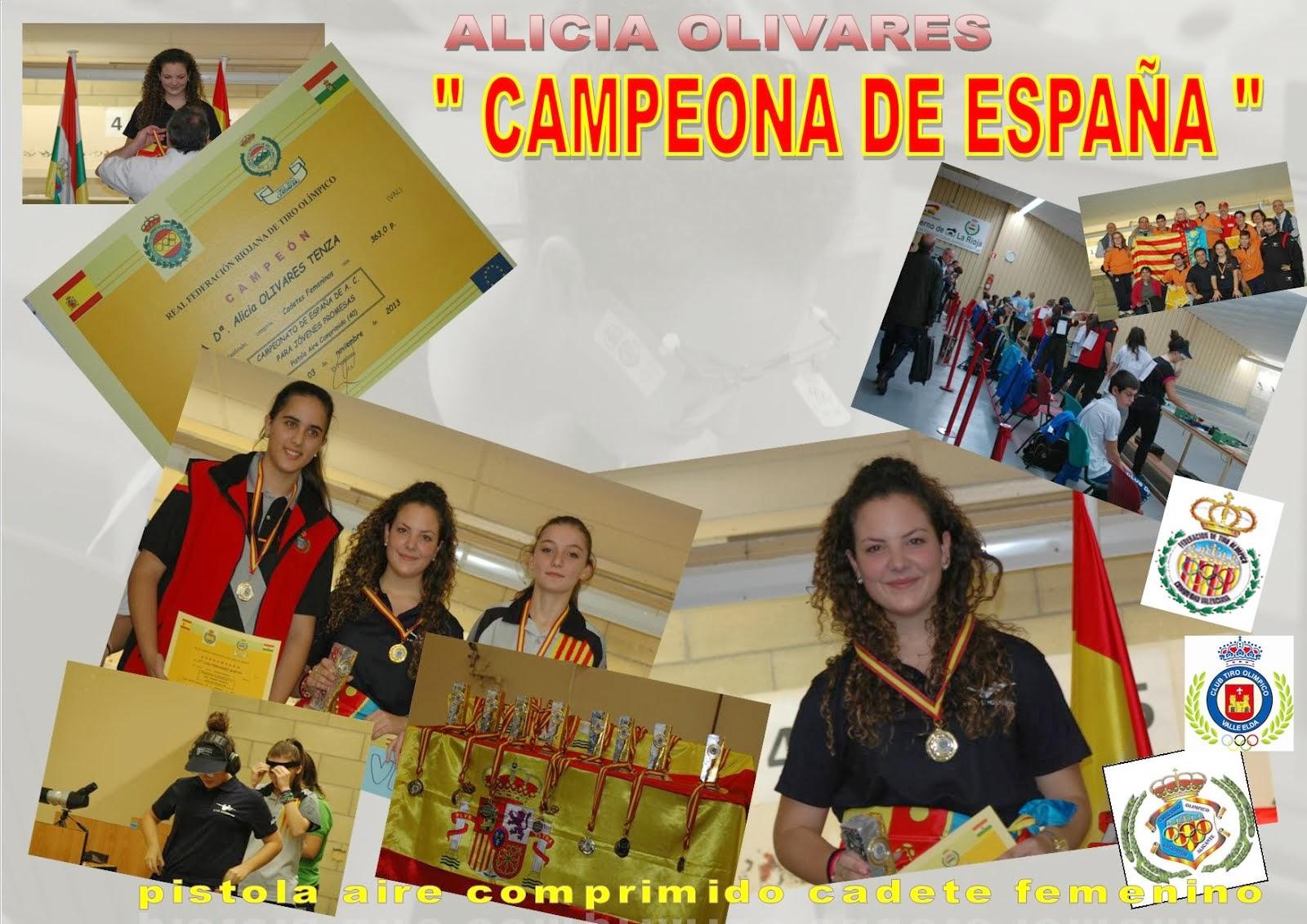 CAMPEONA DE ESPAÑA