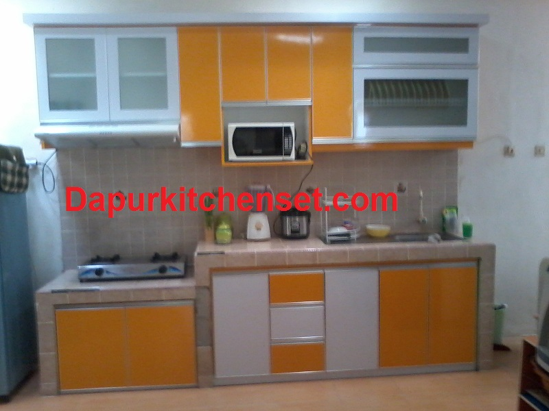 Jasa kitchen set perhitungan biaya kitchen set for Harga kitchen set aluminium per meter