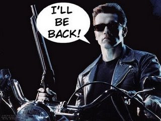 Image result for i will be back