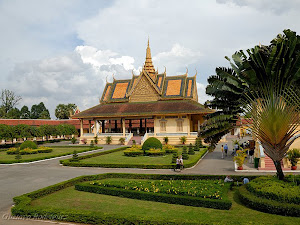 Royal Palace in Phnom Penh - Cambodia