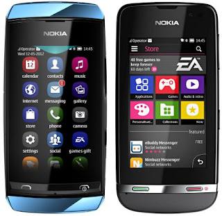 Nokia Asha 306 Spesifikasi dan Harga
