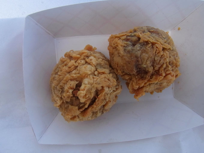 boudin balls are deep fried balls of boudin sausage stuffing the cajun ...
