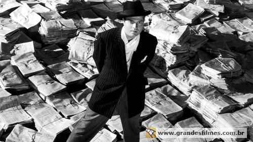 Orson Welles em Cidadão Kane
