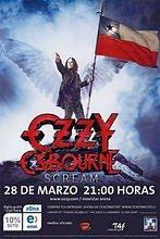 Ozzy en chile 2011
