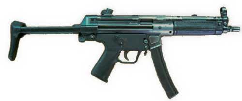 Heckler & Koch MP5 Of Pakistan Army
