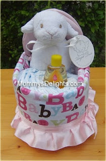 diaper cake bassinets