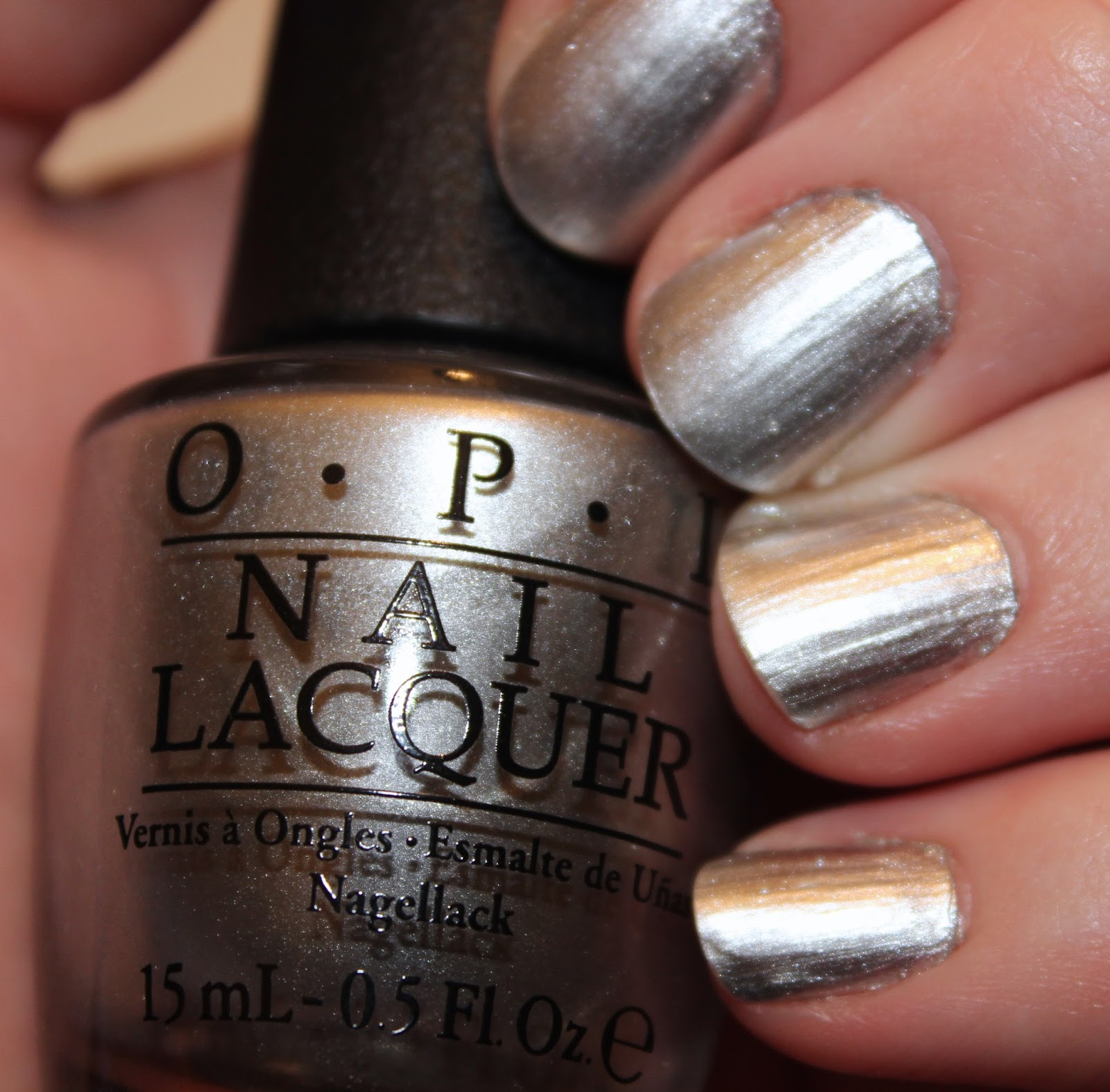 Luxury on the Lips: Nailed It - OPI Nail Lacquer in My Silk Tie