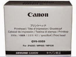 QY6-0059: tête d'impression pour Canon  IP4200, MP500, MP530