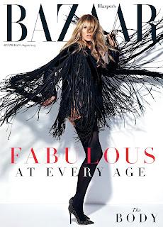 Elle Macpherson Cover Harper's Bazaar Australia1