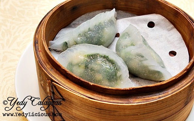 Crystal Jade Steamed Shrimp & Spinach Dumpling