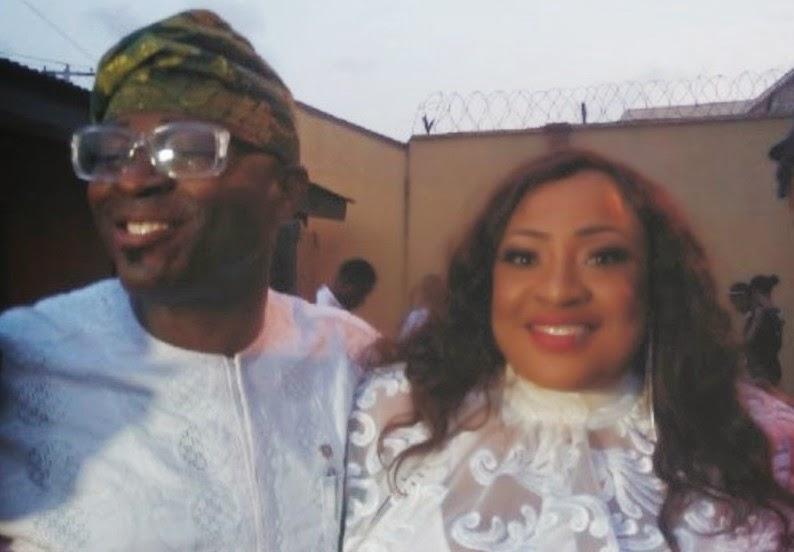 Foluke Daramola-Salako and Husband celebrate second wedding anniversary