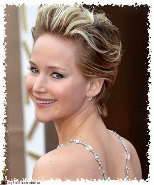 cortes de pelo 2014 Jennifer Lawrence-