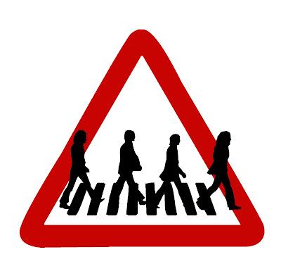 Poesía visual: Abbey Road