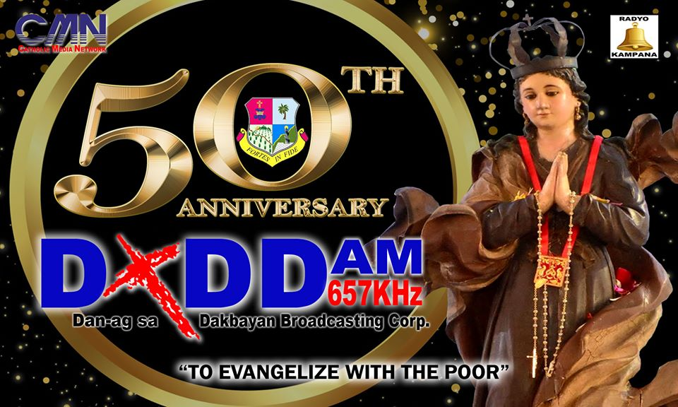 DXDD 50TH YEAR IN SERVICE