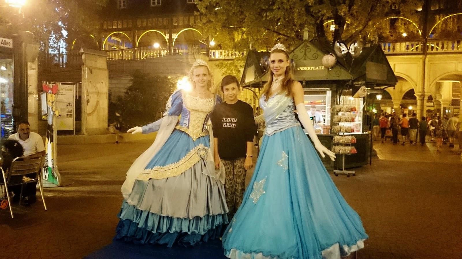 strój księżniczki,bal,europa park,disney,niemcy,suknia balowa