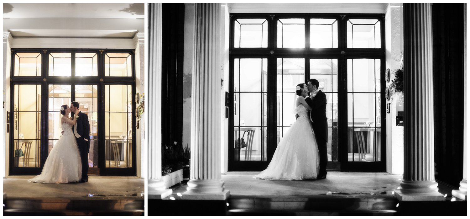 Couple, Bride & Groom, Evening Photographs, Bridal Portrait, Ringwood Hall Hotel