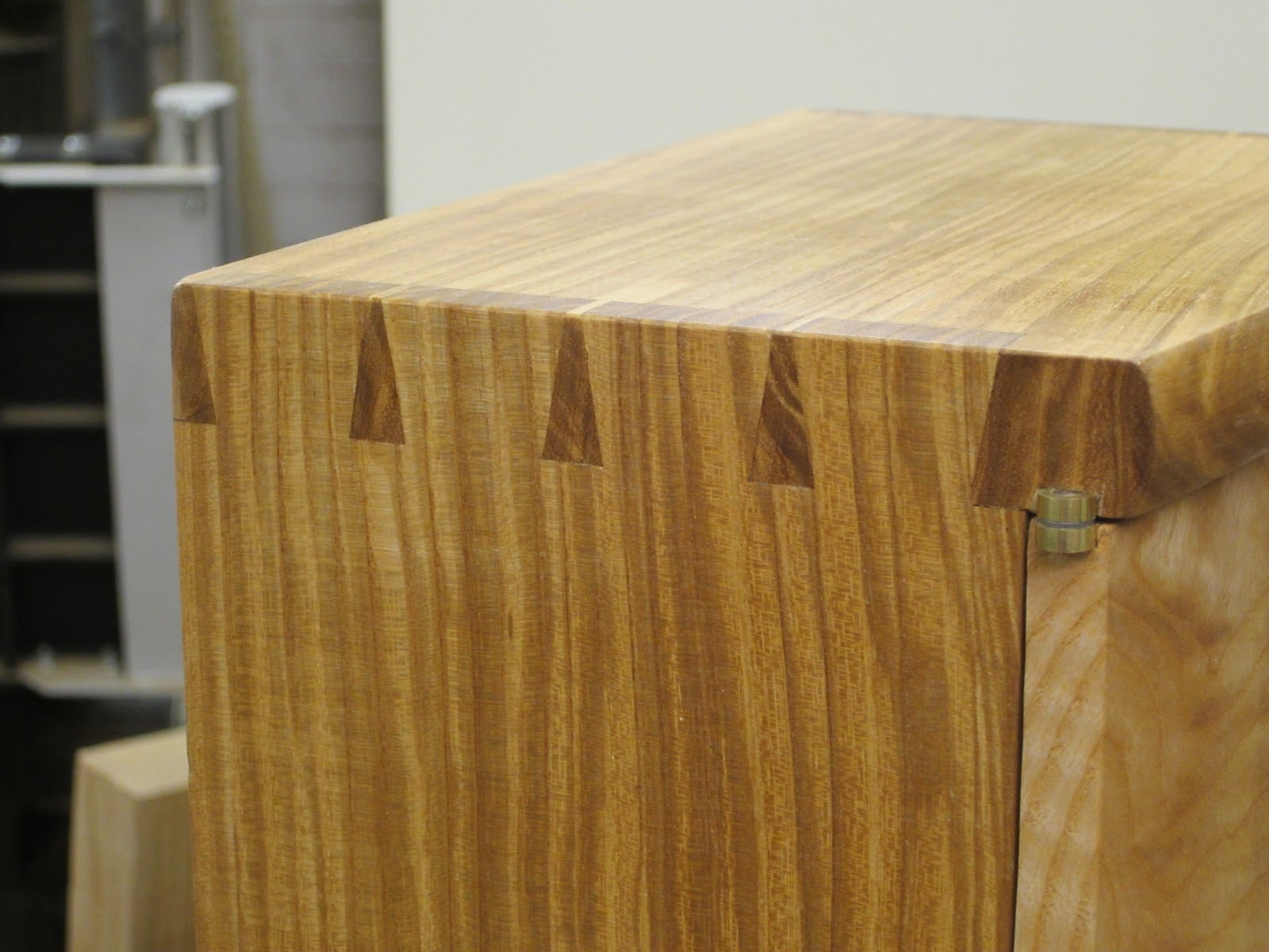 Attrayant Krenov Style Cabinet Finished! Knife Hinges ...