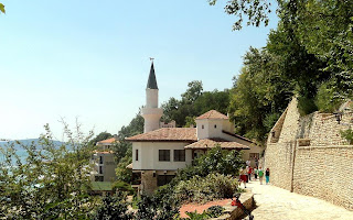 The summer residence of Queen Maria,Balchik Botanical Garden