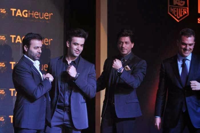 Tarun Mansukhani, Punit Malhotra, Shah Rukh Khan and Franck Dardenne