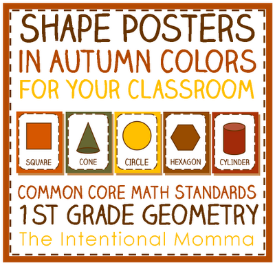 Printable Shapes Poster Free Printable Autumn Shape
