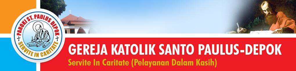 GEREJA KATOLIK SANTO PAULUS DEPOK