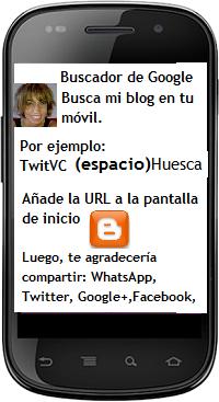 BUSCA TWITVC HUESCA EN TU MOVIL