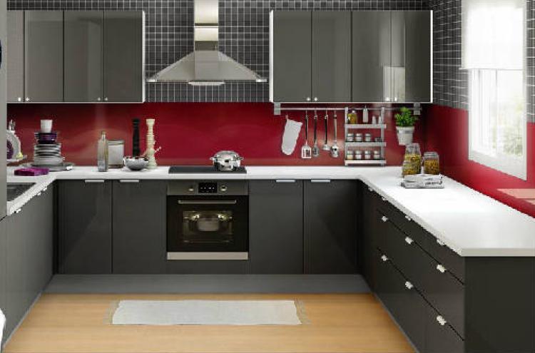 Ikea paneles cocina good cocina con isla with ikea - Paneles acrilicos para cocinas ...