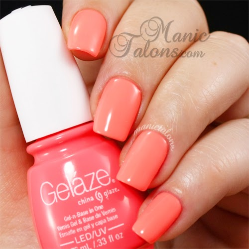 Gelaze Gel Polish Flip Flop Fantasy Swatch