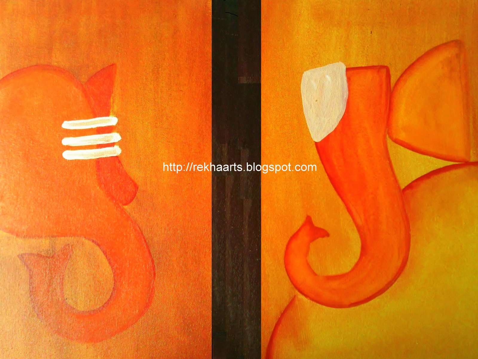 ganesha paintings modern art - photo #19