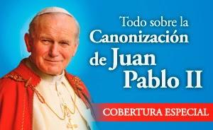 San JUAN PABLO II , ruega por nosotros !!