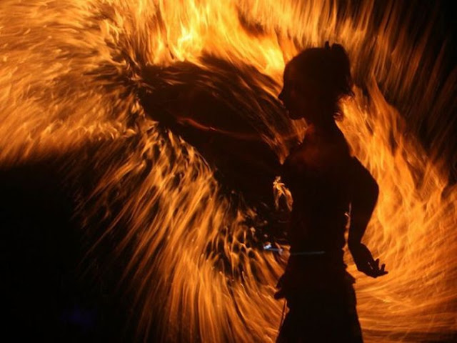 Amazing Fire Dance Photos