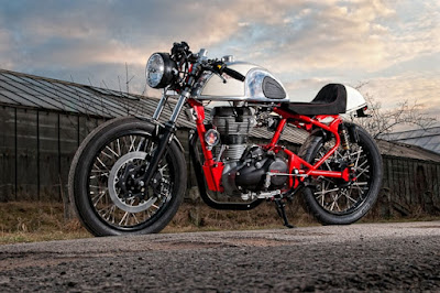 Royal Enfield Cafe Racer by T-Factor Bikes