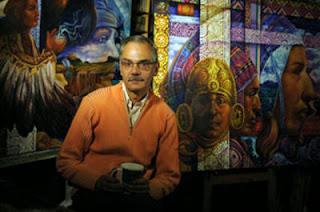 Arte en colombia pintor alfredo vivero for Viveros en colombia