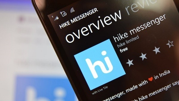 hike messenger windows phone store