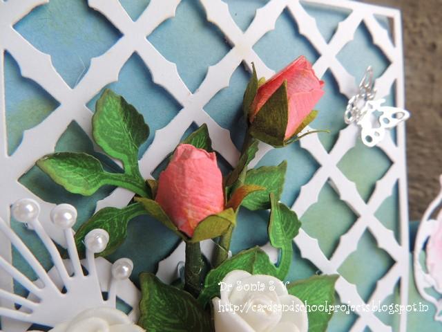 paper rosebud tutorial
