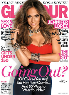 Jennifer Lopez, Glamour Magazine Cover Girl