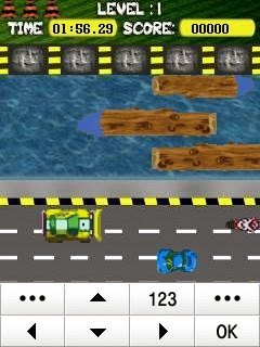 Frogger Jump Samsung Corby Games Free Download - Screenshot 2