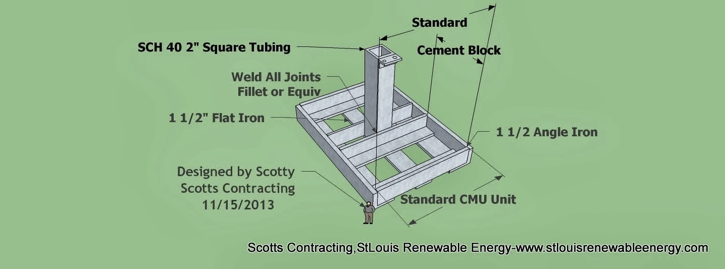 Solar Racking Design CAD Materials Designed by Scotty