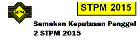 STPM 2015 Penggal 2