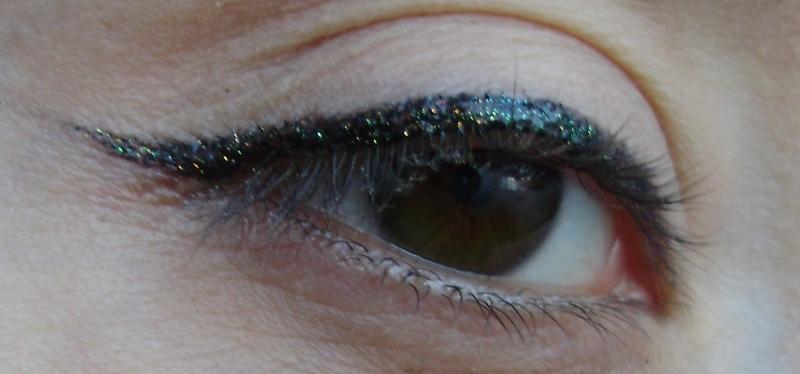 Gabrini Glitter tuš eyeliner 7 07 bubbly chic fashion