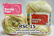 NEW ITEMS - RAYON SEMBUR SPLASH RSC 15