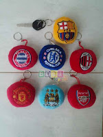 Gantungan Kunci Logo Club Bola